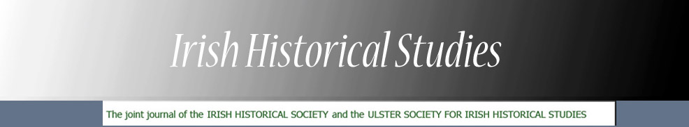 Irish Historical Studies